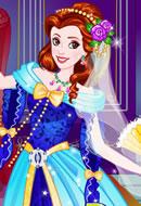 Belle Wedding Dress up