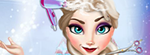 The rain ruined her hair so in this Elsa hair salon game, she will be walking inside for shelter and while she is at it, you will get to make her hair look amazing by styling it beautifully.