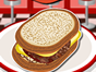 thats easy to prepare and packed full of flavor, this recipe makes the perfect meal to satisfy your hunger. Simply follow the instructions to grill a tasty hamburger patty, then layer on the cheese to complete youre melty concoction in this fun cooking game!