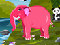 Do you favor animals and want to be their fashion designer? Lets join this pet game online and use your ideas and creativity to complete a makeover session for this cute elephant. Get confused? Just chill and start playing. Do her body care first with shampoo and lotion and make skin and hair glow. After move for a make up session where you will find various tools from which you have to a pretty make up for this cutie. And last you need to customize the elephant look by picking up the right outfit and accessories so that its look really awesome in those. Dont forget to pick the elephant skin color and background color in order to complete a total makeover. Enjoy and have fun girls and kids while playing this cute elephant makeover game!