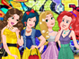 Disney Princesses are waiting edgily for the party. There is a rumor that some princes will also come, so they want to be prepared and look first-class. Ariel, Snow White, Rapunzel and Belle really love fashion and they would like to have an amazing and modern look.Help them look really trendy!