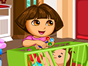 Dora needs to work as a babysitter today. But s...