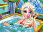 Elsa needs a beauty session before Christmas so she wants to take a spa bath with jacuzzi and specific Xmas plants. Help her go through the spa and facial bath session and learn what it takes to stay beautiful for an Ice Queen. Then join her Christmas tree in the living room and choose from beautiful dresses, jewellery and hairstyles.