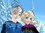 Elsa and Jack Frost are preparing for a wonderf...