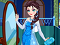 Queen Elsa is always fanscinated by Indian culture, so she decided to travel to India this time. Could you dress her up in gorgous Indian dresses? The best thing is, you could mix and match her own wardrobe with Indian dresses. Play this dress up game and have fun!