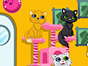 Welcome to the Kitty Beauty Spa. Take your lovely kittens here and give them a makeover! First choose your favorite kitty. then take her to a bath and spa. After that, use your cute accessories to dress up your kitty. Have fun!