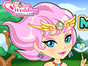 This magicall elf is the owner of the magic forest. Check out her magical wardrobe, there are so many beautiful outfits and accessories! Choose your favorite items and dress her up. Have fun!