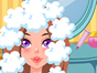 Here you get to run your own nail salon and start your appointment by washing, rinsing, drying and styling her hair ready for her big debut out on the town. Next you can color her hair to compliment her face before accessorizing it with bands, bows, hats and bling!