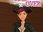 Turn this pirate girl into a modern 21th century fashion diva with our latest makeover studio game! All you have to do is follow 3 easy steps. First take her to the dressing room and design a whole new outfit. You can change the color and pattern of each clothing item. Then its time to go to the hairstyle room and give her a complete new haircut. In the end you must finish the makeover by giving her some lovely trendy makeup. Have fun!