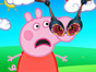 Peppa Pig needs you to take care of his nose in a new and fun doctor game! He can barely breathe because of all those germs, get rid of them and start disinfecting those wounds. Give Peppa Pig the right treatment so he can be happy and playful again.