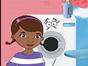 Because Doc McStuffins is pregnant you must help her at ironing clothes.