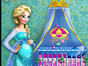 Elsa is pregnant and she needs your amazing designer skills to decorate the babys room. Choose from different furniture elements and make the room cute and childish, but in an elegant and royal way. Match everything together and you will have the perfect environment for Elsas baby!