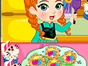 Princess Anna is planning to give Elsa a big Easter surprise. She has two easy and yummy easter treat recipes and cant wait to make the treats for Elsa. Lets play this fun Princess Anna Easter Treats game and learn how to prepare these snacks. Have fun!