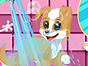 Welcome to the CDE Puppy Spa! Follow the steps to bathe the puppy, dry it off, clip its nails, and give it an overall wonderful spa experience! When youre done, dress it up however you like for a day of puppy fun!