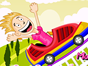 Decorate your own roller coaster ride!  Your friends will be thrilled when they discovered that you are the one who decorate the ride. Enjoy playing this decorating game for girls!