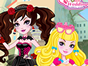 What is Ever After High Raven Queens destiny? Royal or Rebel? Play this fun dress up game and you could decide her destiny! Check out her royal and rebel wardrobes and find out which style suits her the best! Have fun!