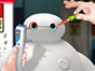 Even superheroes get hurt so in this Baymax eye doctor game 