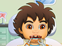 Help your friend in this Diego dentist game so he can enjoy 