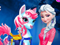 Start having some fun in this Elsa pony care ga...
