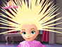 Sofia is in your new hair salon and in this fun hair styling game you will get to make her look awesome. Choose the new hair style, length and color, then you can shape it however you want.