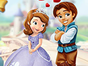 Help the cute couple in this Sofia and the prin...