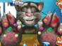 Invite your friend inside in this Talking Tom hand doctor 