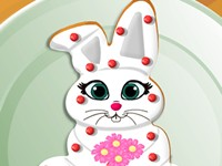Easter Bunny Cookie Decor