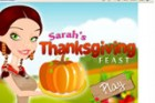 Sarah's has invited her friends for her Thanksgiving 