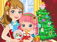Christmas is coming and baby Alice wants to prepare a special gift just for her loving mother! Help her choose gifts, wrap them and decor the living room, and make best Christmas party ever!
