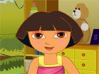 Run Dora through her facial makeover steps and ...