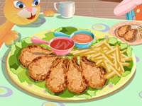 Fried Chicken Cooking Game