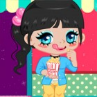 Change her hair, clothes and even her tasty sna...