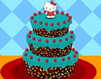 Give a wonderful treat to Hello Kitty by decora...