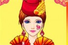 The hot fire queen loves hot theme, like party,...