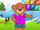 Help this cute Teddy dress up nicely for a bash...