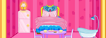 With this decorating game you can rearrange all the doll furniture into its spe